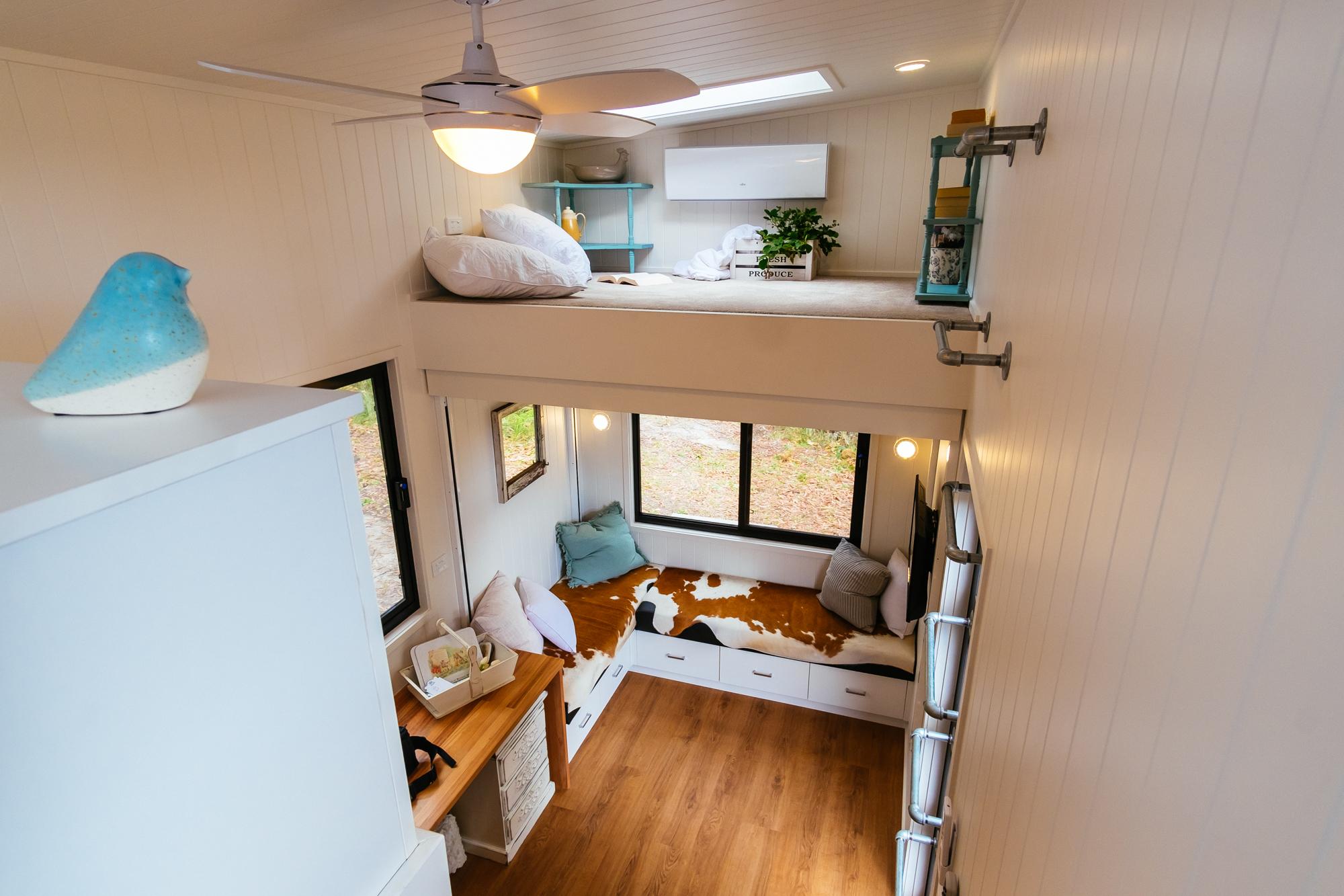 Eco Tiny Home Lounge